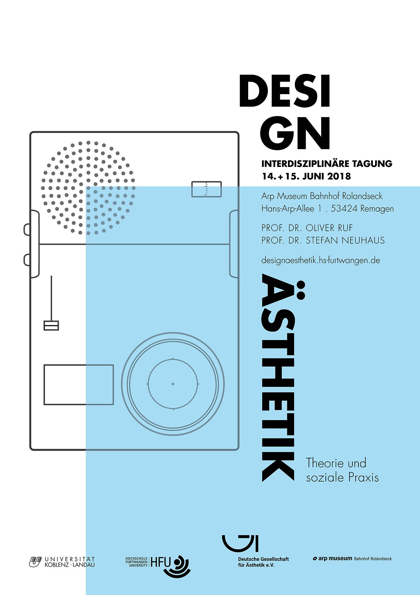 Plakat Design Weinheim